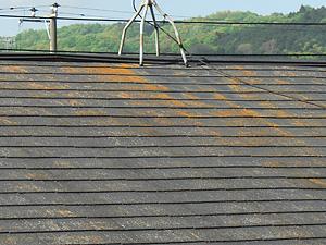 老朽化屋根イメージ