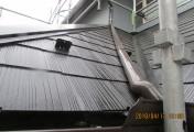 雨樋、屋根完了